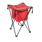 Sidekick Portable Standing Beverage Cooler, (Red)