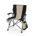 Outlander Camp Chair with Cooler, (Black)