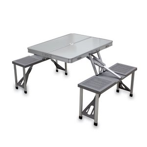 Aluminum Picnic Table With 4 Seats