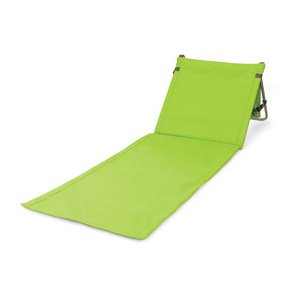 Beachcomber Outdoor Beach Mat & Tote, (Lime)