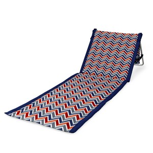 Beachcomber Outdoor Beach Mat & Tote, (Vibe Collection)