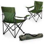 PTZ Camp Chair, (Khaki Green)