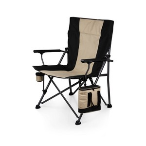 Big Bear Camp Chair with Cooler, (Black)