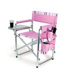 Sports Chair, (Pink with Stripes)