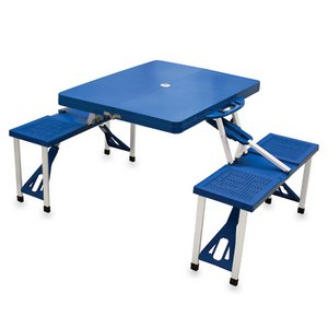 Picnic Table Sport - Portable Folding Table - Navy