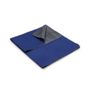 Blanket Tote Outdoor Picnic Blanket, (Navy with Black Lining)