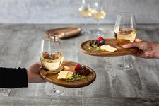 Wine Appetizer Plate Set of 4