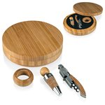 Maestro Wine Accessory Box-3Pc Bamboo
