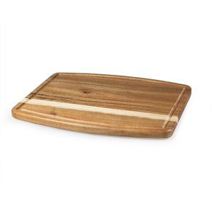 Ovale - Barrel Shaped Cutting Board Made Of Acacia