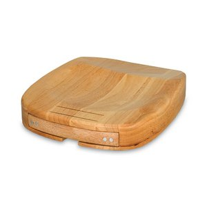 Herb Chop Block - Rubberwood Herb/Vegetable Chopping Block