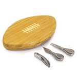 Quarterback- Football Cheese Board w/ tools