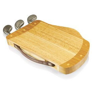'Caddy' Golf Bag Cheese Board & Tools Set