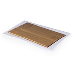 Enigma- Offset Cutting Board and Serving Tray (Plain White Box)