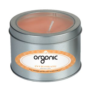 Invigorate Candle Large Window Tin