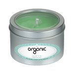 Focus Essential Oil Infused Soy Wax Candle Medium Window Tin