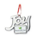 Joy Photo Art Custom Christmas Ornament