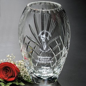 Durham Barrel Vase 8 in.