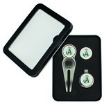 Deluxe Golf Gift Sets - Divot Tool with Belt Clip