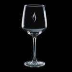 Aerowood 12oz Wine Glasses Engraved