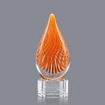 Aventura Award on Clear Base - 7.5 in. High