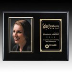 Metcalfe Plaque - Black/Gold 4 in.x6 in. Photo