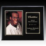 Metcalfe Plaque - Black/Gold 5 in.x7 in. Photo