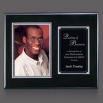 Metcalfe Plaque - Black/Silver 5 in.x7 in. Photo