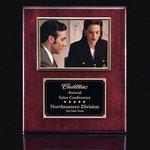 Metcalfe Plaque - Rosewood/Gold 5 in.x7 in. Photo