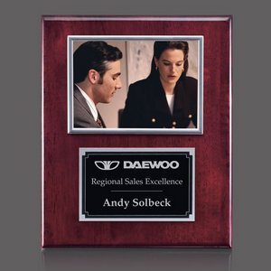 Metcalfe Plaque - Rosewood/Silver 5 in.x7 in. Photo