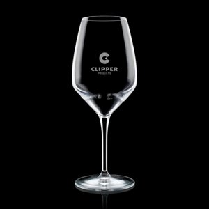 Brunswick Wine Glasses Engraved - 24oz Crystalline
