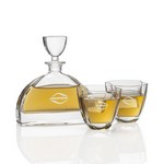 Dalkeith Decanter & 2 Double Old Fash