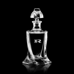 Oasis Decanter - 30oz Crystalline