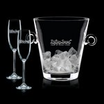 Italia Champagne Bucket and 2 Flutes