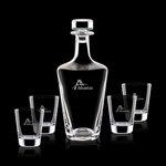 Frazier Decanter and 4 On-the-Rocks