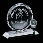 Nashdene Golf Award - Optical 7 in.
