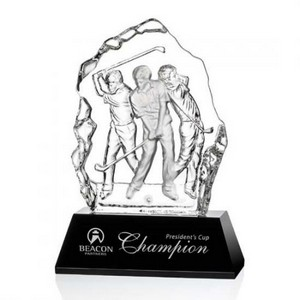 Fergus Golf Award (M) - Optical/Black 8 1/4 in