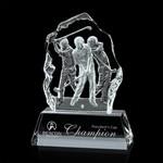 Fergus Golf Award (L) - Optical 9-1/8 in  in