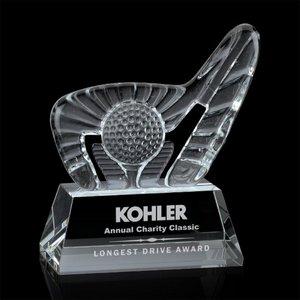Dougherty Golf Award (S) - Optical 4 1/2 in  W