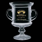 Neuchatel Loving Cup Golf Trophy - 10in.