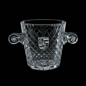 Medallion Wine Glasses Engraved Cooler