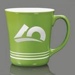 Churchill Striped Coffee Mug