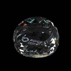 Driscoll Paperweight - Colored 3 in.
