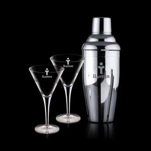 Connoisseur Shaker and 2 Belfast Martini