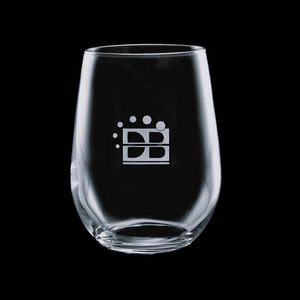 Ossington 17oz Stemless Wine Glasses Engraved Glasses