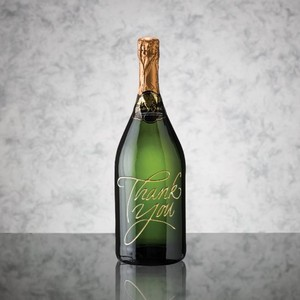 Custom Engraved Sparkling Wine/Champagne 1.5L with 1 Color