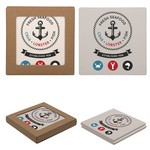 Square Two Coaster Set of 2