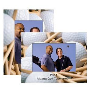 Golf Paper Easel Frame
