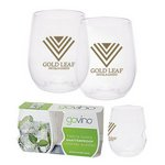 Dishwasher Safe Govino? 12oz Wine/Cocktail Glass 2 Pack