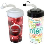 Tumbler with Straw 20 oz
