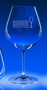 Riedel Lead Crystal Vinum Burgundy Engraved Wine Glass (set/2) 24.75 Oz.